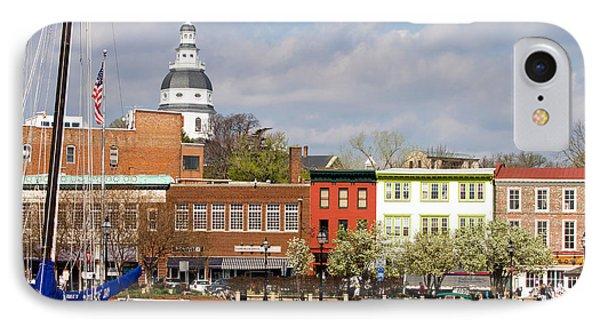 Annapolis Downtown Harbor IPhone Case