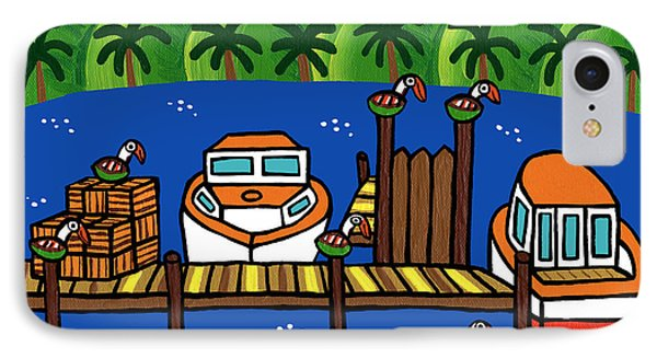 Annie's Dock - Cedar Key IPhone Case