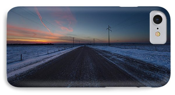 another Cold Road to Nowhere IPhone Case
