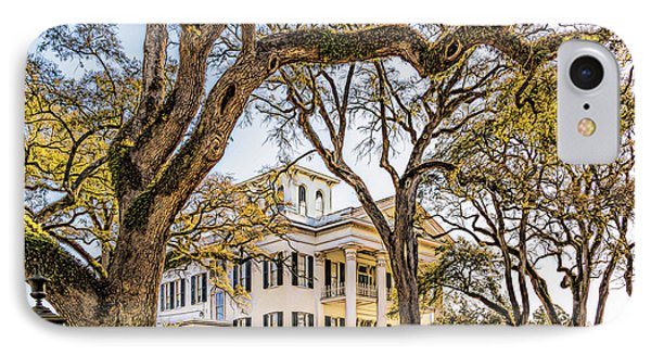 Antebellum Mansion IPhone Case