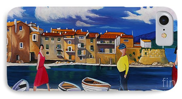 Antibes And French Cove IPhone Case
