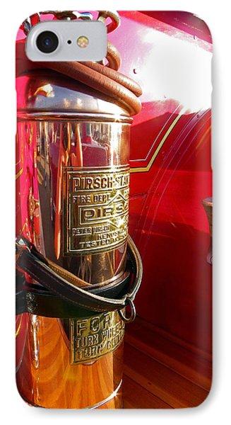 Antique Fire Extinguisher IPhone Case
