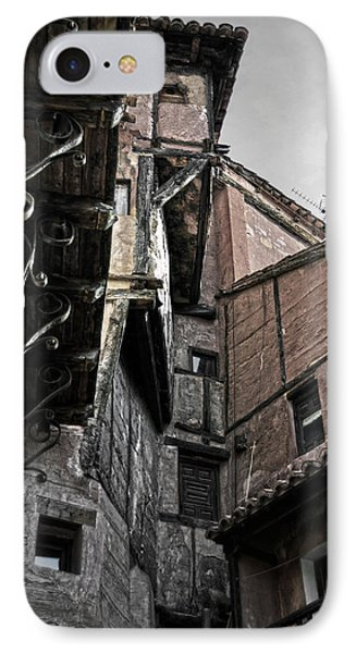 Antique Ironwork Wood And Rustic Walls IPhone Case