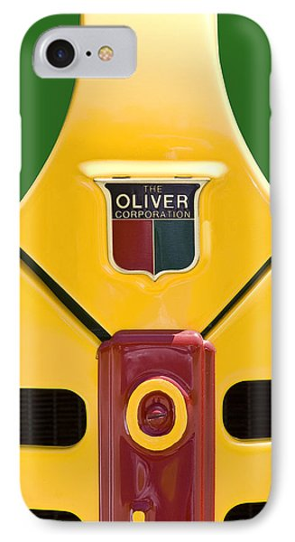 Antique Oliver Tractor IPhone Case