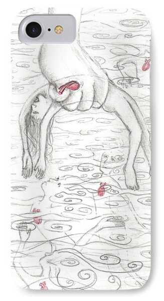 Anxiety Drawing Original IPhone Case