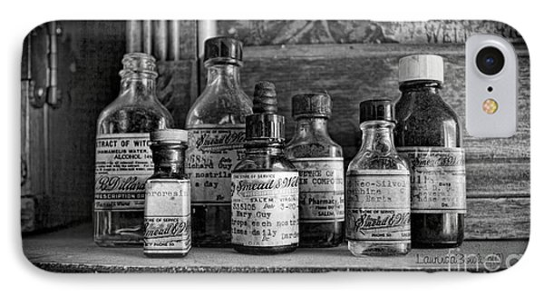 Apothecary Bw IPhone Case
