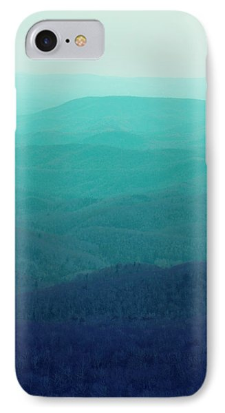 Mountain iPhone 8 Case - Appalachian Mountains by Kim Fearheiley