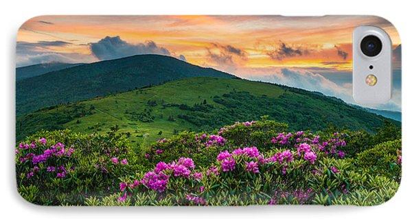 North Carolina Appalachian Trail Roan Mountain Highlands IPhone Case
