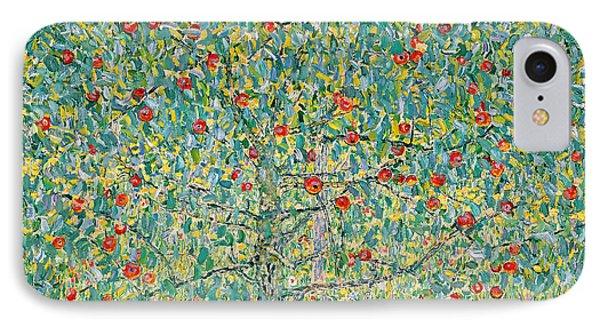 Garden iPhone 8 Case - Apple Tree I by Gustav Klimt