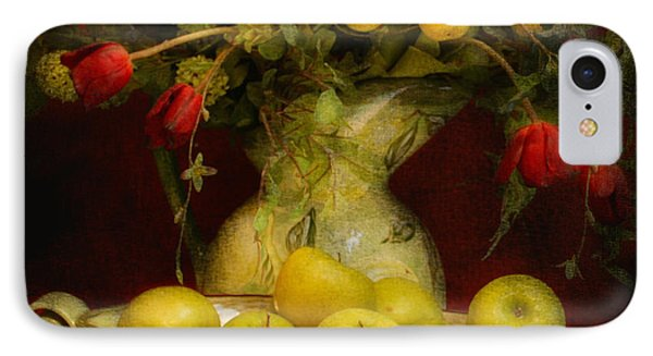 Apples Pears And Tulips IPhone Case