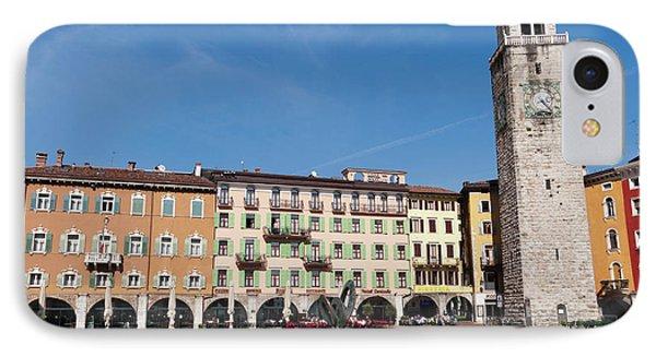 Apponale Tower, Piazza 3 Novembre, Riva IPhone Case