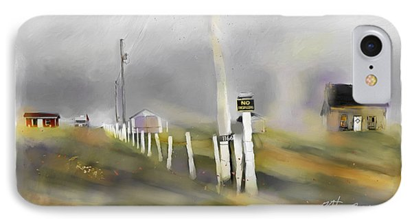 Approaching Storm Northwest Cape P.e.i IPhone Case