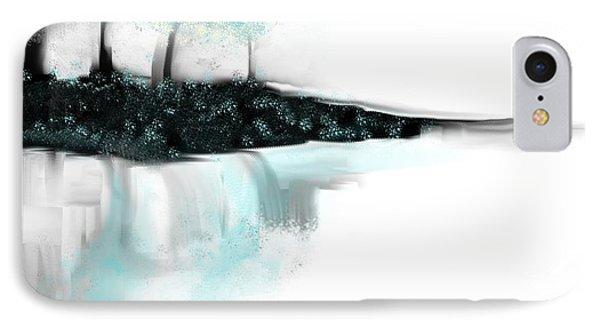 Aqua Landscape IPhone Case