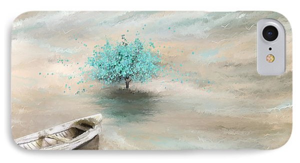 Aqua Tree Of Life IPhone Case