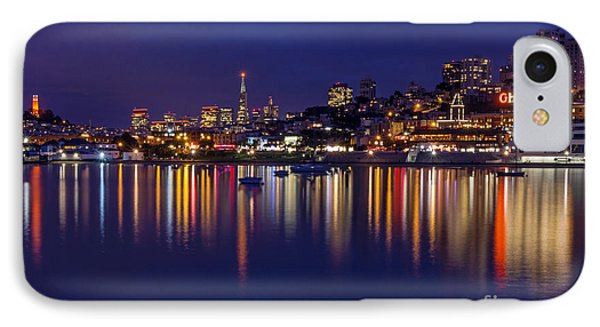 Aquatic Park Blue Hour Wide View IPhone Case