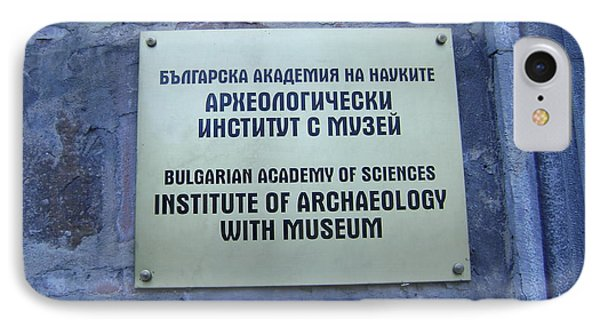 Archaeology Museum IPhone Case
