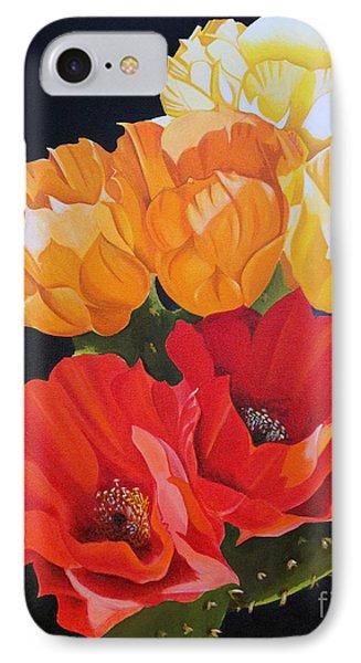 Arizona Blossoms - Prickly Pear IPhone Case