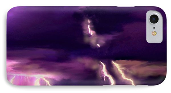 Arizona Monsoon Season Lightning IPhone Case