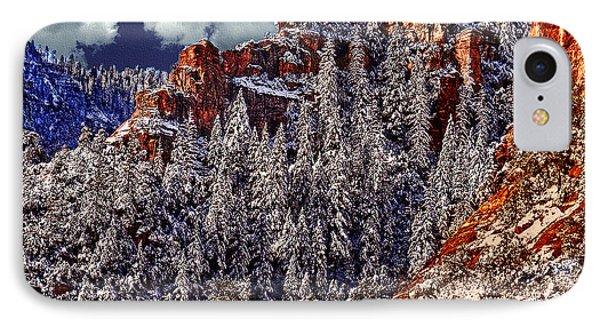 Arizona Secret Mountain Wilderness In Winter IPhone Case