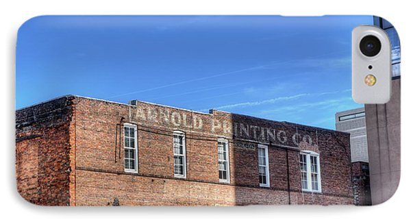 Arnold Printing Co Building IPhone Case