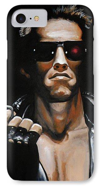 Arnold Schwarzenegger - Terminator IPhone Case
