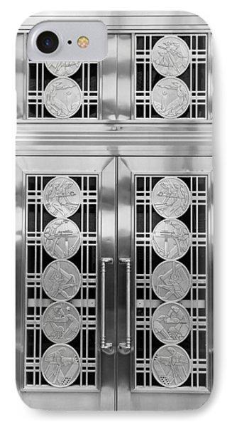 Art Deco Door 2 IPhone Case