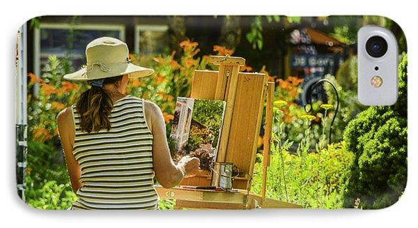 Art In The Garden IPhone Case