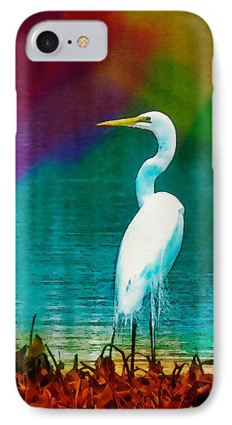 Art Of The Egret IPhone Case