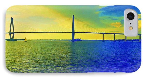 Arthur Ravenel Bridge 19 IPhone Case