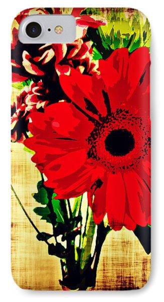 Artistic Flowers IPhone Case