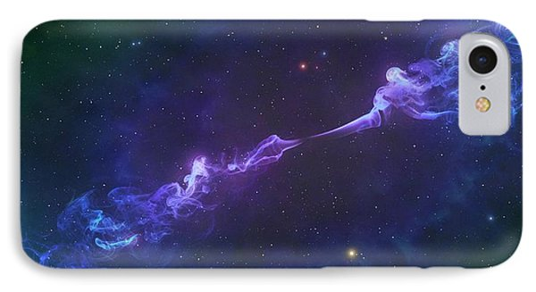 Artwork Of A Herbig-haro Object IPhone Case