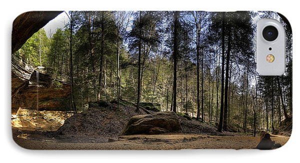 Ash Cave Pano - Spring 2014 IPhone Case