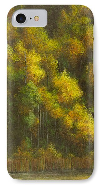 Aspens And Cattails IPhone Case