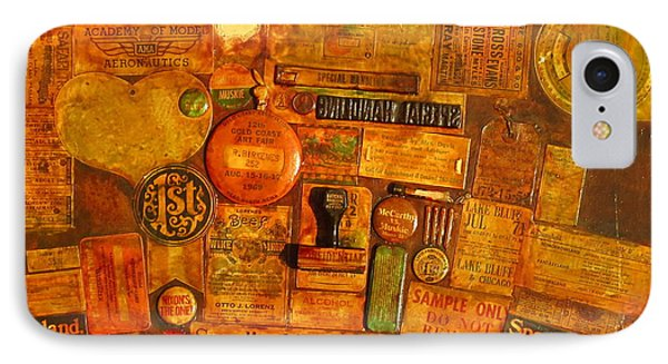 Assemblage Painting 6 IPhone Case