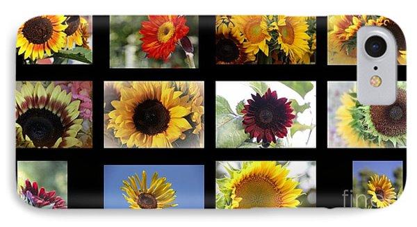 Assorted Sunflower IPhone Case