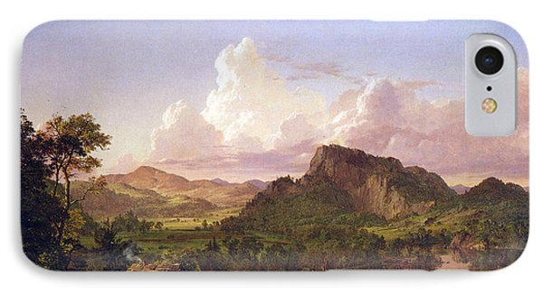 At Home On The Lake By Frederick Edwin Church IPhone Case