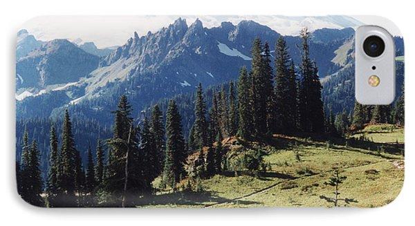 At Mt. Rainiers Feet IPhone Case
