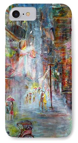 When Rain Just Stopped At North Kolkata IPhone Case