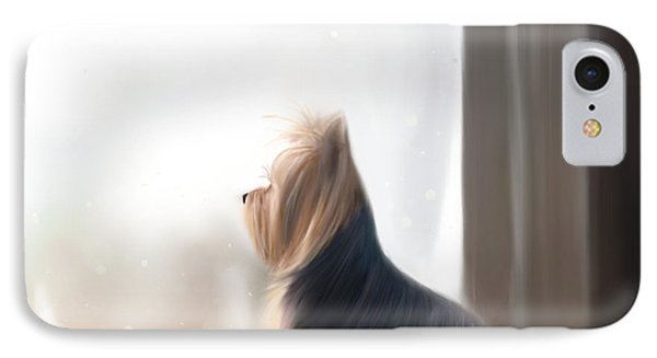 At The Window IPhone Case