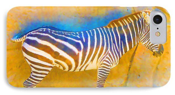 At The Zoo - Zebras IPhone Case