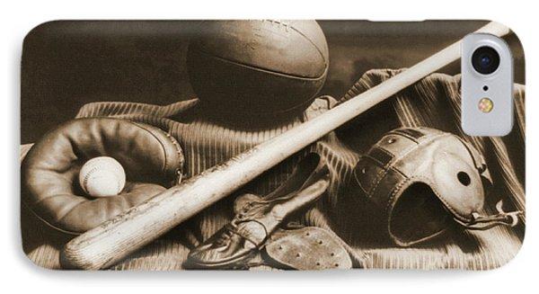 Athletic Equipment 1940 IPhone Case