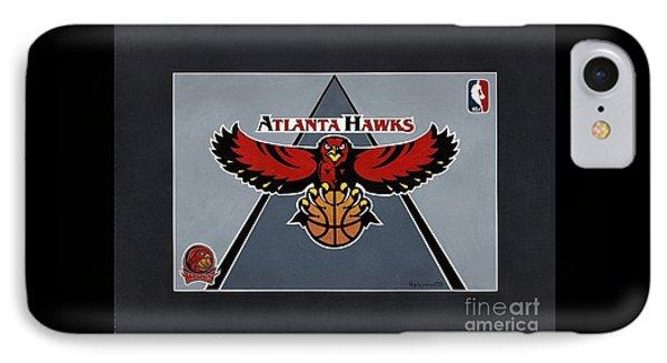 Atlanta Hawks T-shirt IPhone Case