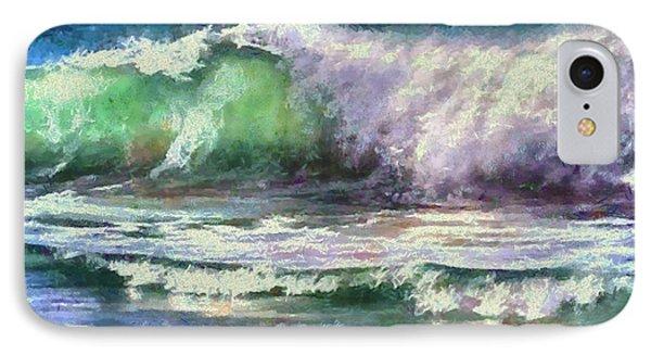 Atlantic Waves IPhone Case