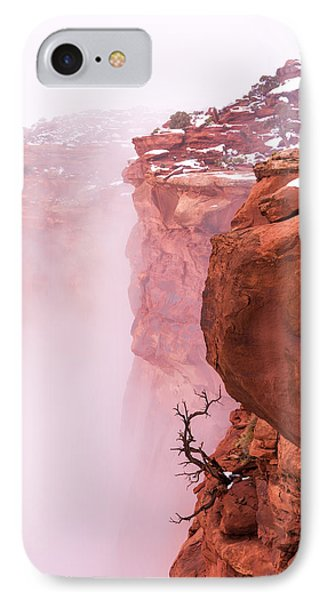 Beauty In Nature iPhone 8 Case - Atop Canyonlands by Chad Dutson