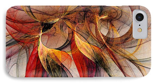Attempt To Escape-abstract Art IPhone Case
