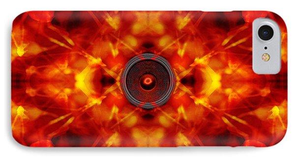 Audio Kaleidoscope IPhone Case