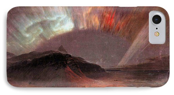 Aurora Borealis By Frederick Edwin Church IPhone Case