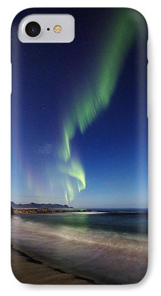 Aurora By The Beach IPhone Case