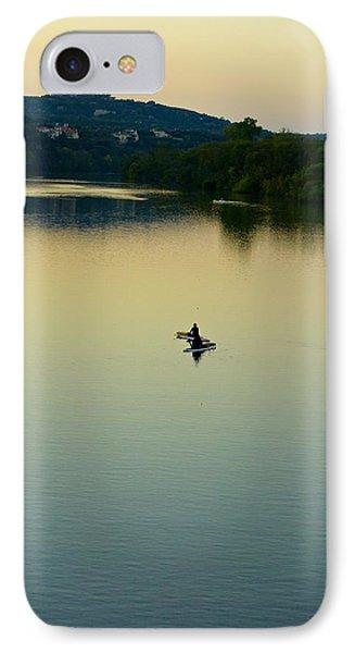 Austin Lady Bird Lake IPhone Case