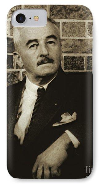 Author William Faulkner 1954 IPhone Case